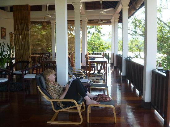 Nam Ou Riverside Hotel & Resort : chilling out