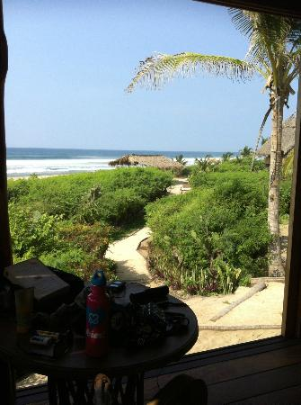 Playa Viva: The view from the room