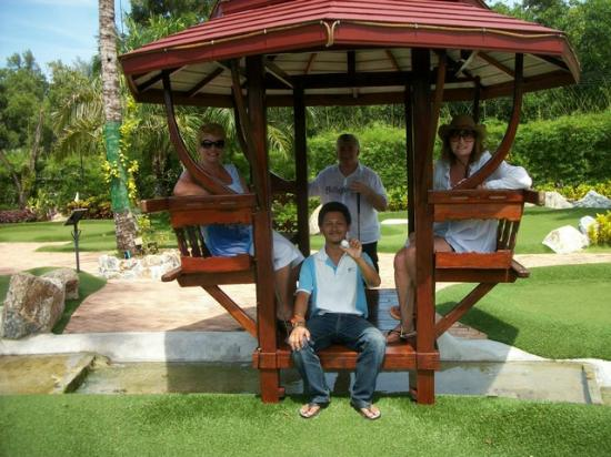 Phuket Adventure Mini Golf: taking a break from the sun