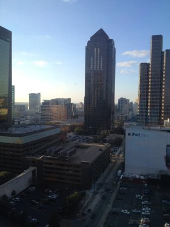 Sheraton Dallas Hotel: my view