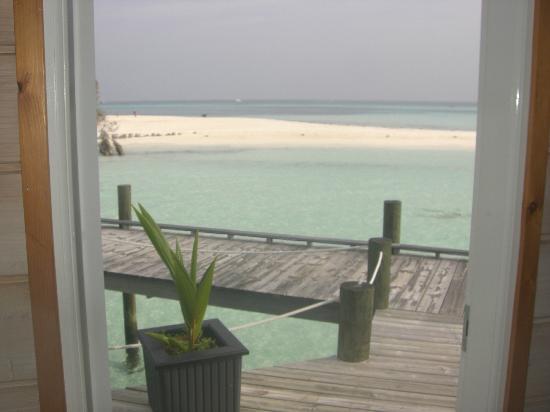 Kuredu Island Resort & Spa: Vue qui nous enchantes chaque matin