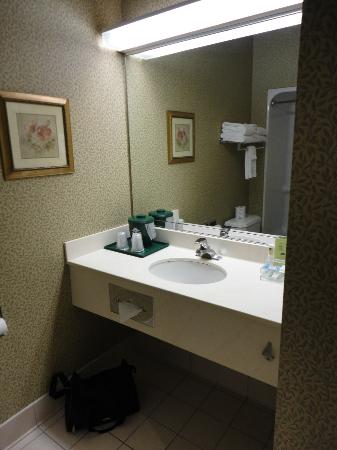 Country Inn & Suites by Radisson, Gettysburg, PA: Large Bathroom 1