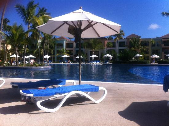 Ocean Blue & Sand: Poolområdet