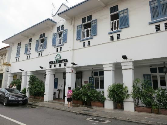 Perak Hotel: Singapore-style decor