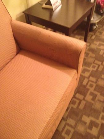 La Quinta Inn & Suites Tulsa Airport / Expo Square: disgusting