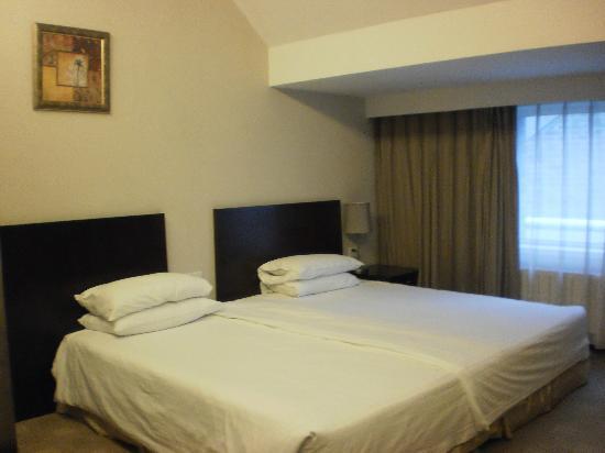 Days Inn Forbidden City Beijing: Bedroom view