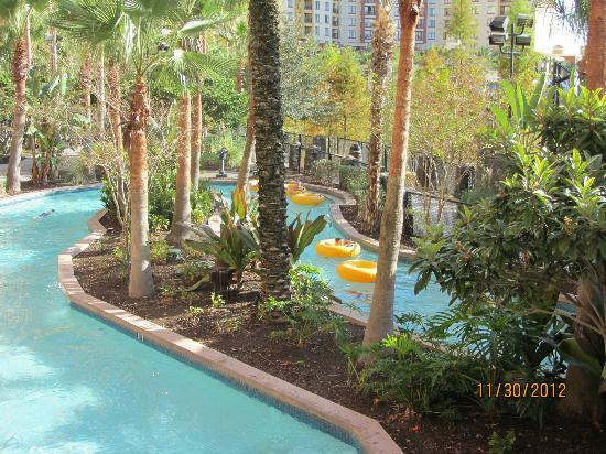 Wyndham Grand Orlando Resort Bonnet Creek: lazy river pool