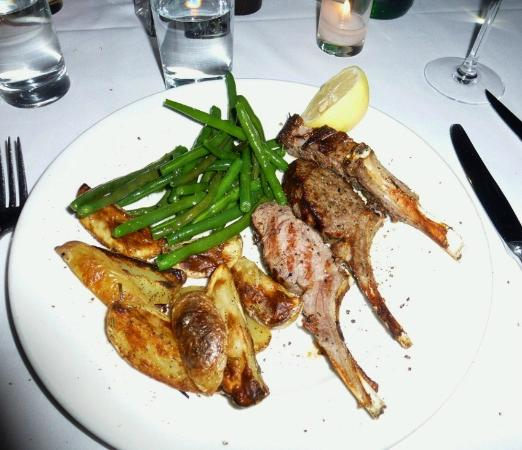 Il Cantinori: Lamb chops - I believe the best I've ever had!