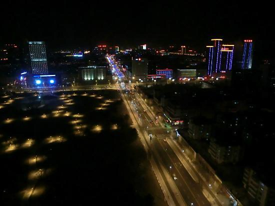 City Skyline From Room Picture Of Shangri La Baotou Hotel