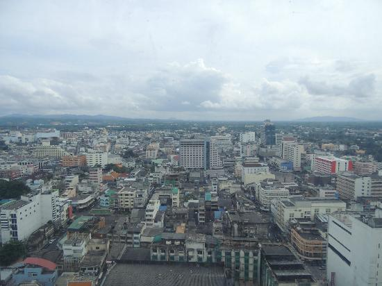 Lee Gardens Plaza: City Sky View from 20th Room