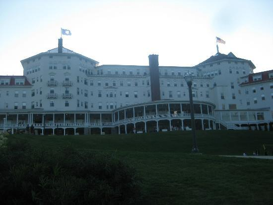 Omni Mount Washington Resort: From the lawn behind the hotel