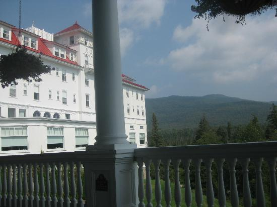 Omni Mount Washington Resort: From the back porch