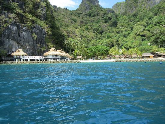 El Nido Resorts Miniloc Island: From the sea