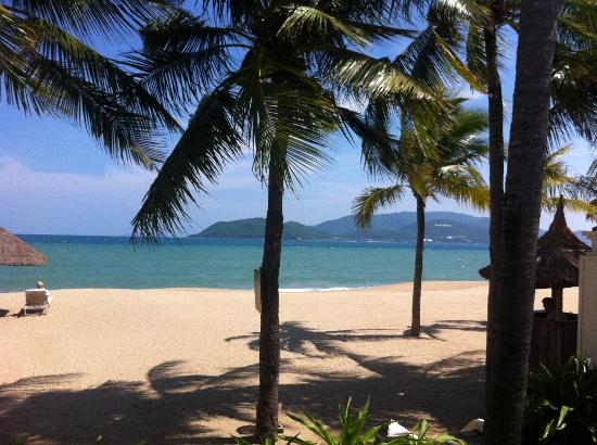 Evason Ana Mandara Nha Trang: View from our beachfront balcony