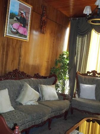 El Buho Hotel: Recepción