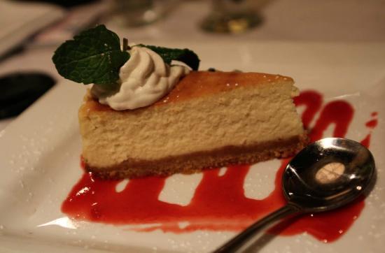 McCormick & Schmick's : great cheesecake