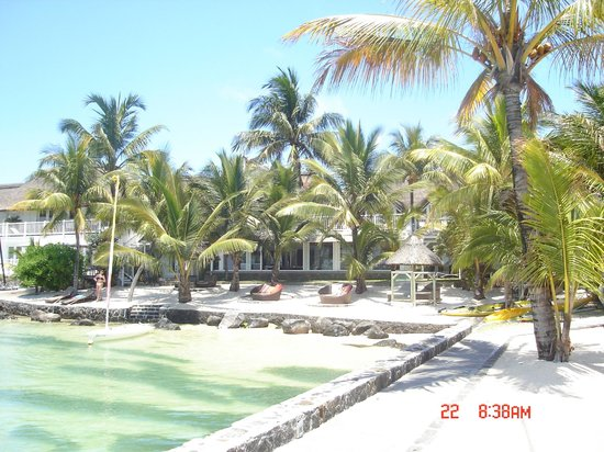20 Degres Sud Hotel: het hotel aan de strandzijde