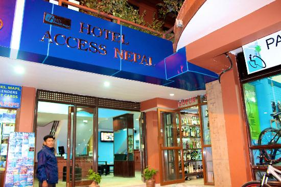 Image result for hotel access nepal