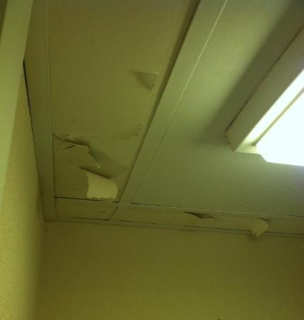 Comfort Inn Near Ellenton Outlet Mall: bathroom ceiling