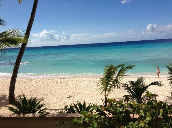 White Sands Beach Condos: 2BR - View from patio