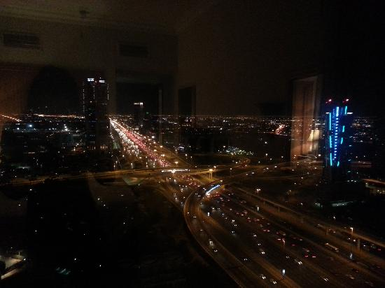 Gloria Hotel: view from bedroom to SZR