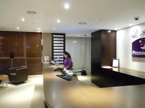 Premier Inn Abu Dhabi Capital Centre Hotel: reception