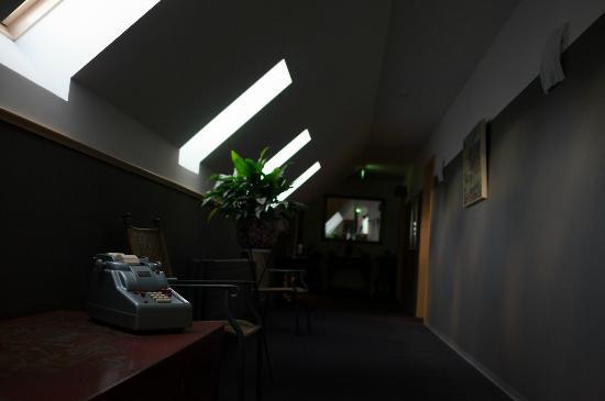Hotel Laxnes: 廊下