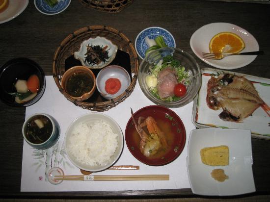 Ryoteikaiseki Soga: 朝食