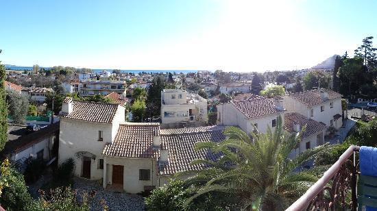 Azur Eden: vue du balcon