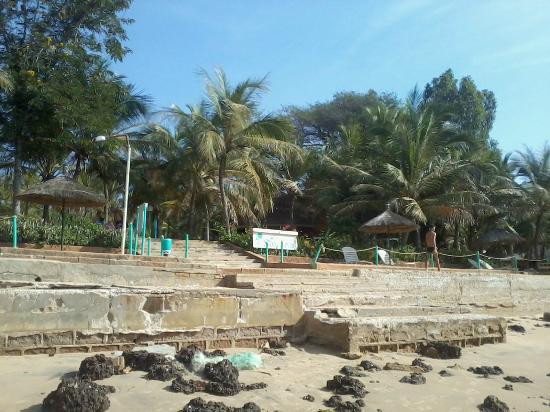 Savana Saly Hotel : plage