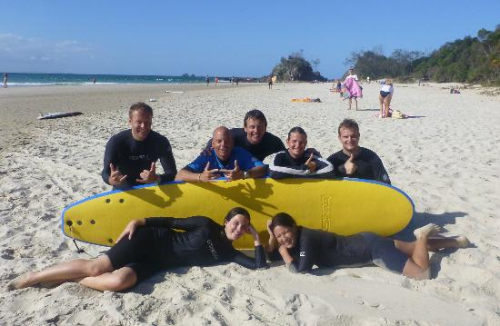 Blackdog Surfing: our group