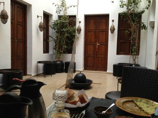 Riad Chayma: foyer