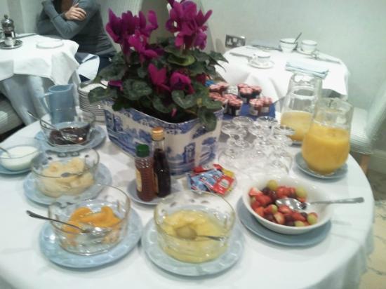 Benson House: Breakfast