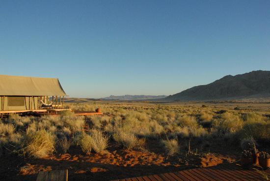 Wolwedans Dune Camp: landschaft unendliche stille