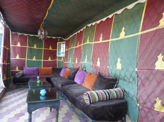 Riad Dar Tamlil : Roof terrace