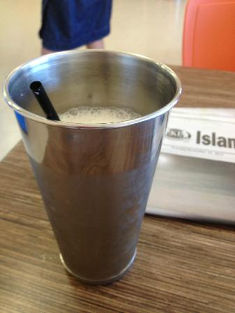 Hot Stuff Takeaway: Real milk shake