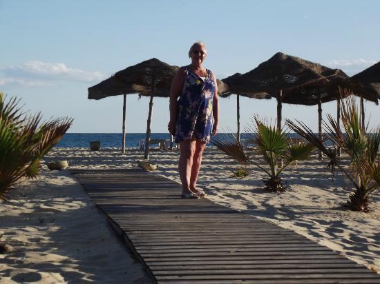 Hotel Palace Hammamet Marhaba: on the beach