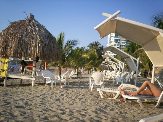 Decameron Galeon: La playa