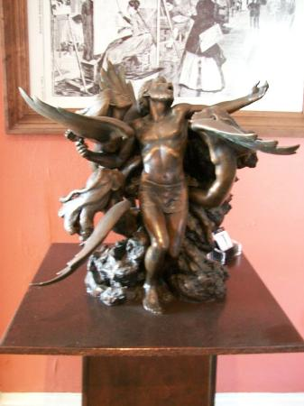 St. Vincent's Guest House: Ulysses and the Sirens sculpture