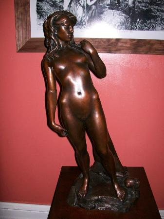 St. Vincent's Guest House: Penelope sculpture