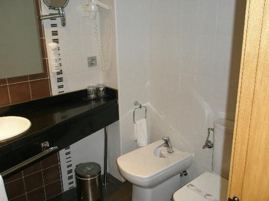 Sercotel Odeón Hotel: baño