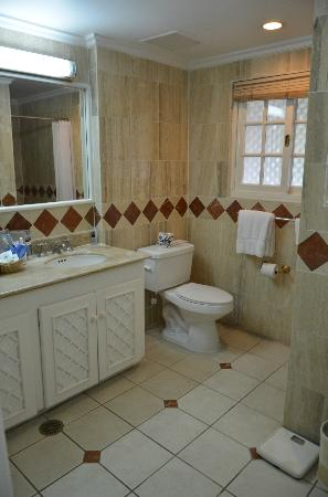 Couples Sans Souci: bathroom in beach front room