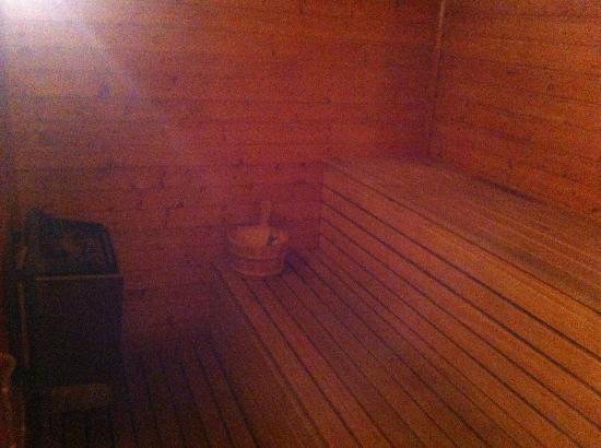 Our House: Private Sauna!