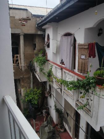 Pedlar62 Guest House: view along side street from balcony