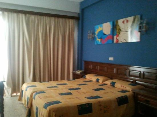 Hotel Tejuma: Habitación