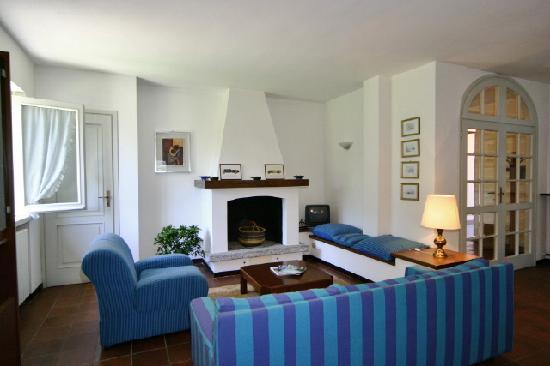 La Spiaggia del Lago : The living room