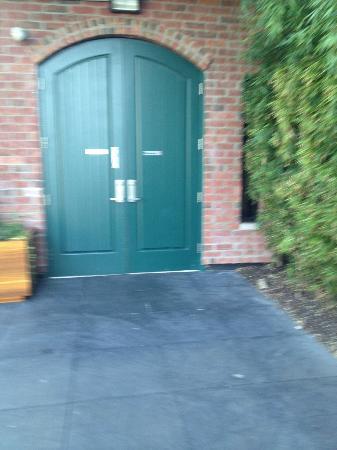 NYLO Providence/Warwick: the front door