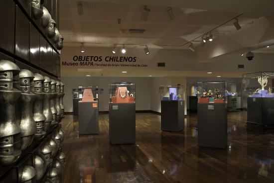 Resultado de imagen para museo de arte popular americano chile