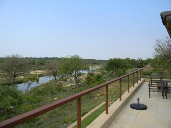 Mjejane River Lodge: View from balcony