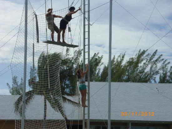 Viva Wyndham Fortuna Beach - An All-Inclusive Resort: trapeze